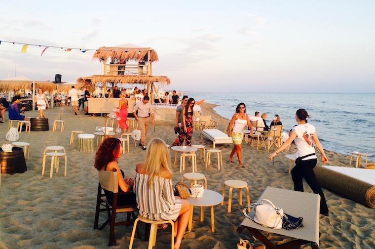 Пляжи Форте Дей Марми