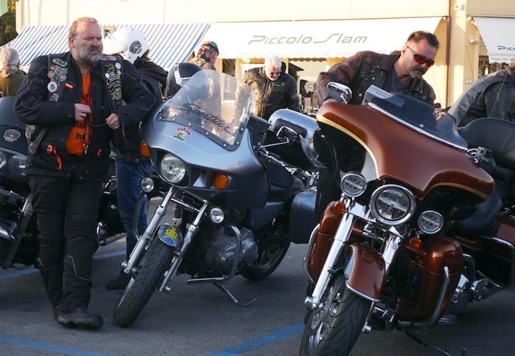 Harley Davidson в Форте Дей Марми