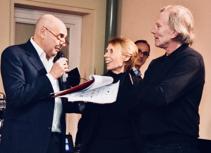 Паоло Брозио, Мариялина Маркуччи, Стив Крисман